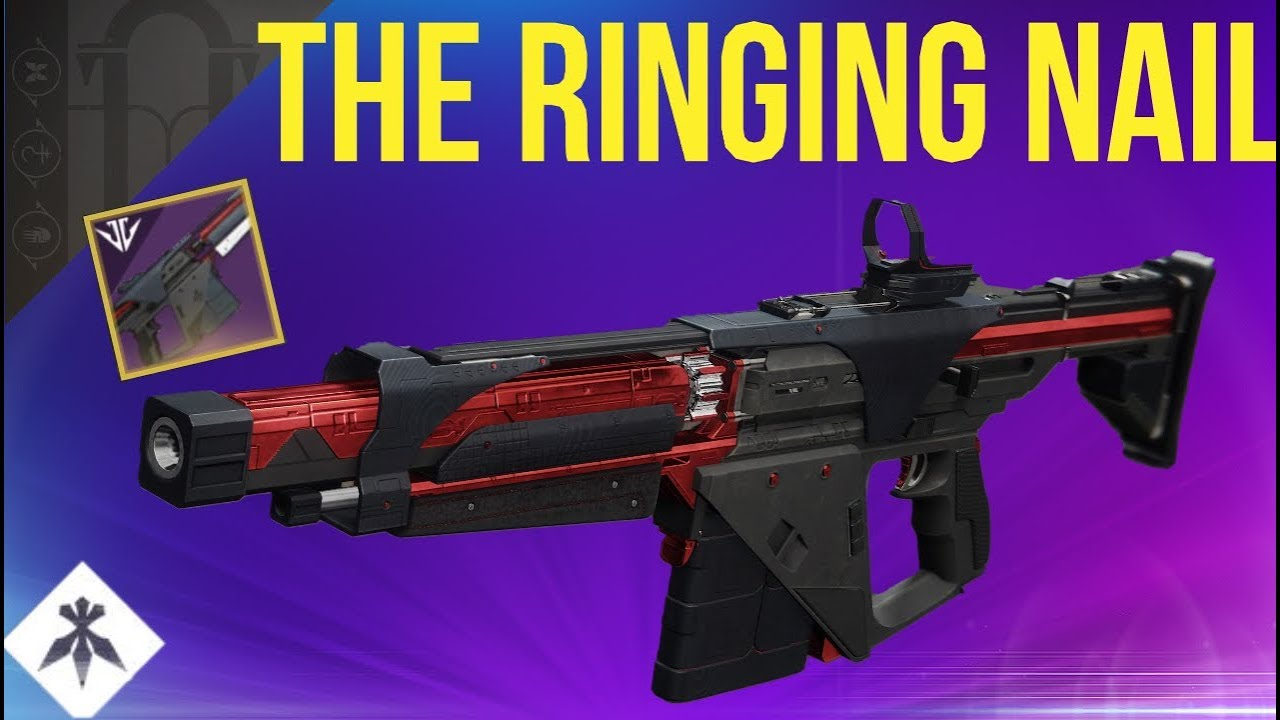 The Ringing Nail! Volundr Forge Auto Rifle! Destiny 2 Black Armory