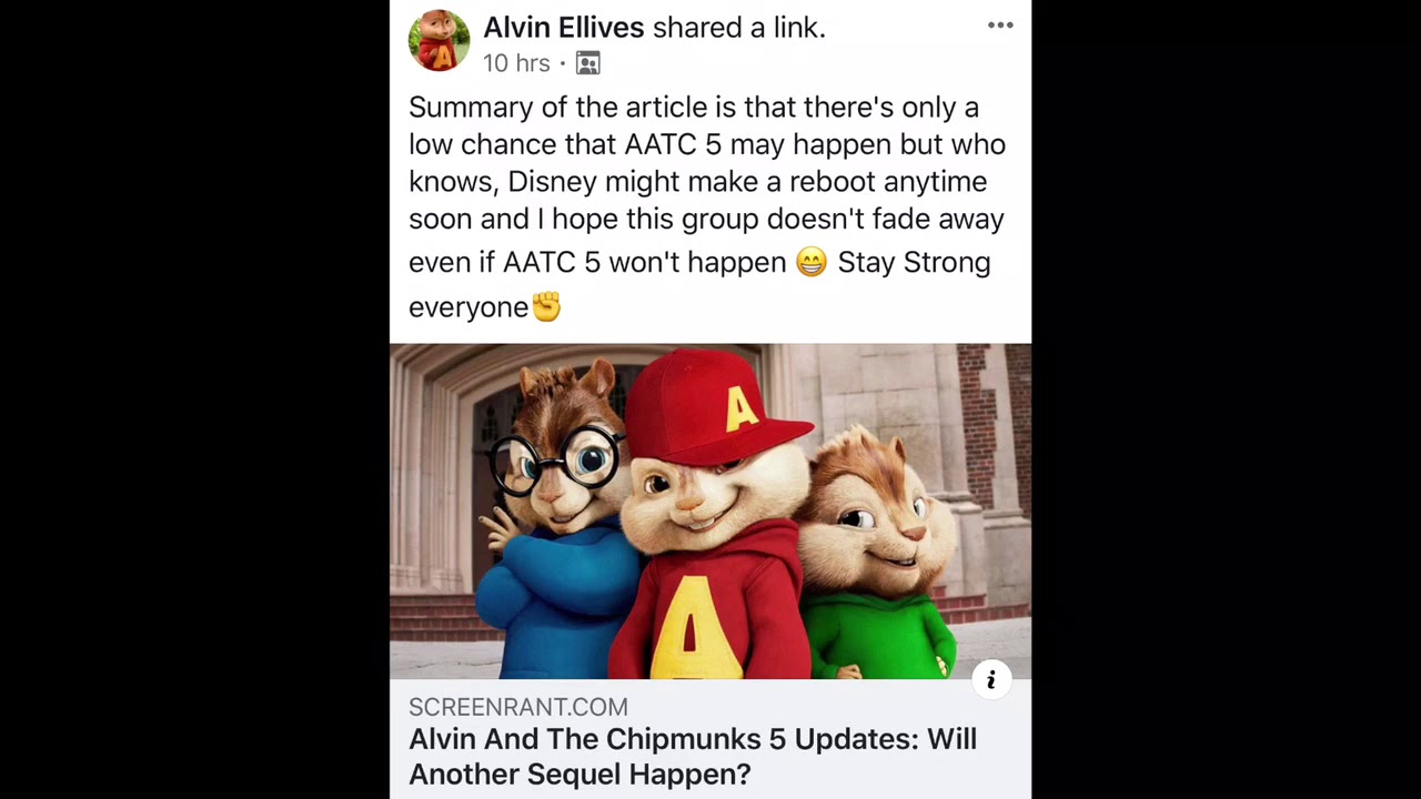 Alvin And The Chipmunks 5 2020 Youtube