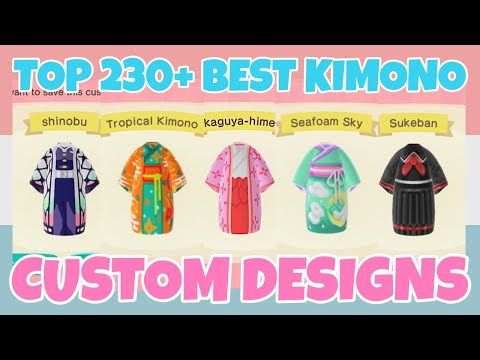 Top 230 Best Kimono Custom Designs In Animal Crossing New