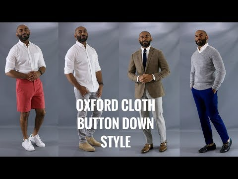 How To Wear A White Oxford Button Down/How To Style A White OxFord Button Down