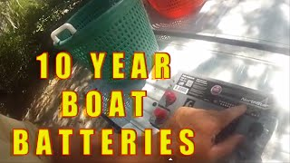BEST BOAT BATTERY - NORTHSTAR AGM Batteries (99.9% pure lead)