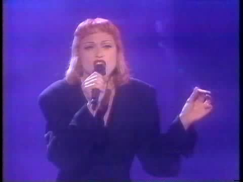 Madonna - Fever live - Arsenio Hall show 1993