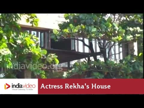 Rekha 39 S House Bollywood Actress Hindi Cinema Mumbai