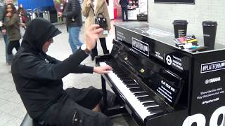 Meeting Your Ex-Teacher At A Public Piano