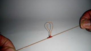 Simpul pancing 2 mata kail tanpa kili² - mancing ikan mas || Fishing Knot 2 hooks without swivel
