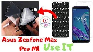 Asus ZSenfone Max Pro M1 Rubber 5D Template Glass    IndiForce Nano Glass     #pritamclub