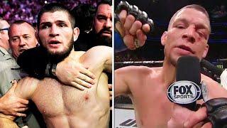 НА ХАБИБА ПОДАЛИ ЗАЯВЛЕНИЕ В ПОЛИЦИЮ / НЕЙТ ДИАЗ НЕ БУДЕТ ДРАТЬСЯ НА  UFC 230