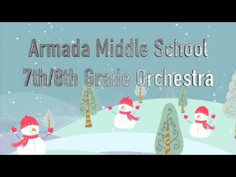ARMADA MIDDLE SCHOOL CHRISTMAS CONCERT (12-15-2015)