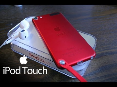 NEW Apple iPod Touch 5 [Unboxing]
