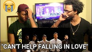 Pentatonix - Can't Help Falling in Love (Official Video) (REACTION)