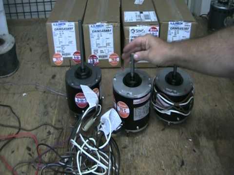 Bad indoor blower motor doovi for Bad blower motor symptoms in hvac