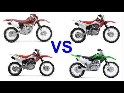 Playing around on the XR250, KLX140L, CRF230, CRF150  by DIRT BIKES NZ