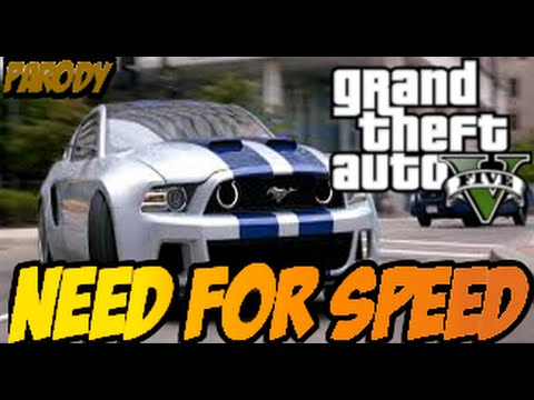 Need For Speed - Official Trailer ( HD ) GTA 5 Parody
