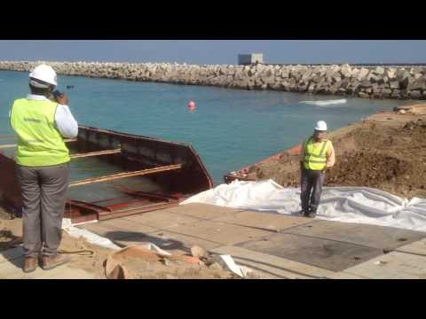 Offshore hdpe pipeline installation
