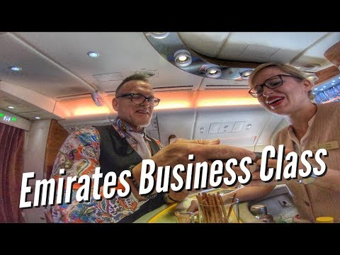 EMIRATES BUSINESS CLASS - vlog141