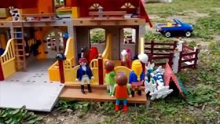 """Film Playmobil Le centre Équestre de Madame Reg :  Le cheval perdu """"Episode"""" 1"""