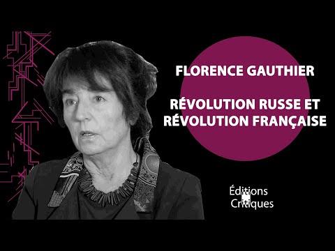 """""""Révolution russe et Révolution Française"""" d'Albert Mathiez/ Florence Gauthier"""