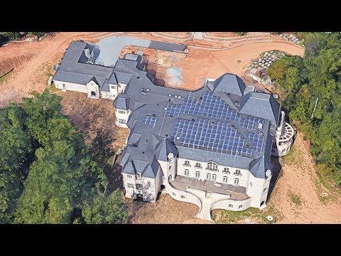 Photo: house/residence of the tough 0.8 million earning Baton Rouge, Louisiana-resident