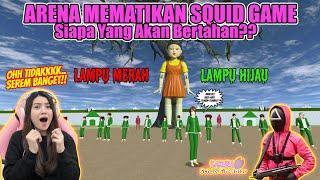 ARENA MEMATIKAN SQUID GAME!! LAMPU MERAH-HIJAU!! JGN SAMPE GAGAL!! SAKURA SCHOOL SIMULATOR-PART 486 screenshot 3
