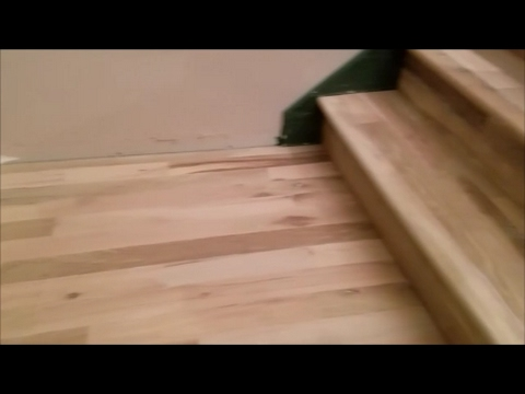 Hardwood stairs done cheap DIY home improvement