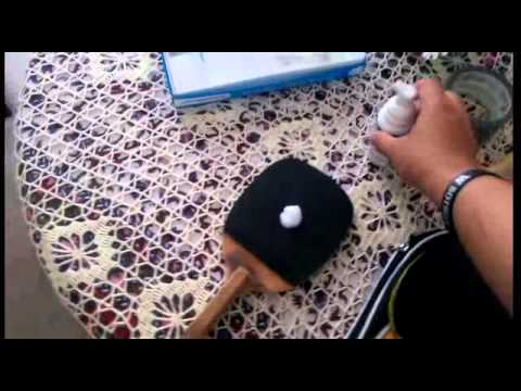 Tutorial: How To Clean Your Table Tennis Rubber!