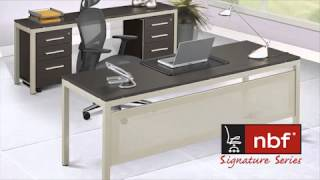 Table Desk With Modesty Panel | Nbf At Work | National Business Furniture