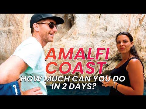 2 Days on the AMALFI COAST with FULL ITINERARY!
