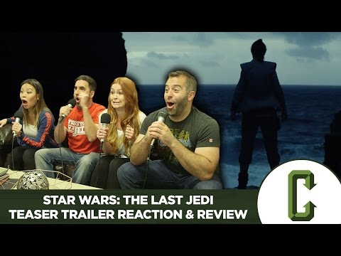 Thumbnail: Star Wars: The Last Jedi Teaser Trailer Reaction & Review