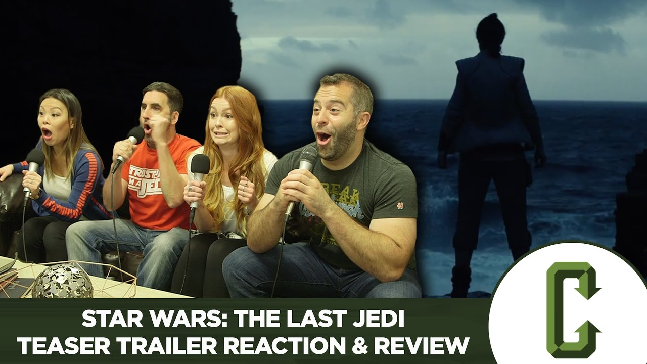 Download Star Wars: The Last Jedi Teaser Trailer Reaction & Review