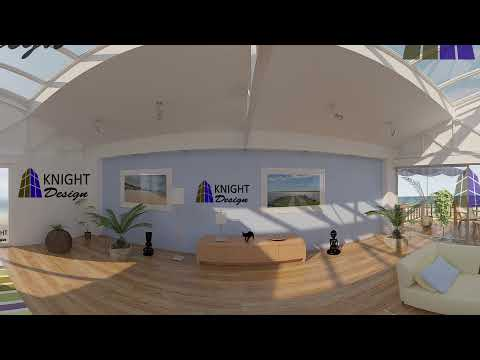 360 Panorama Architectural Rendering - Knight Design