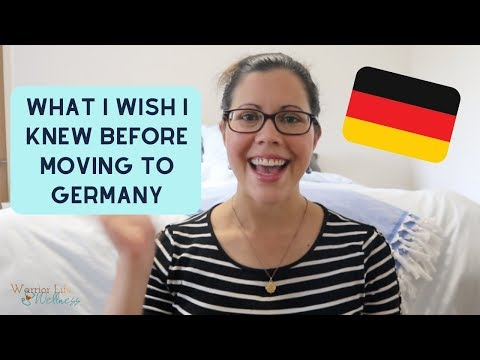 WHAT I WISH I KNEW BEFORE MOVING TO GERMANY | PCS To Germany