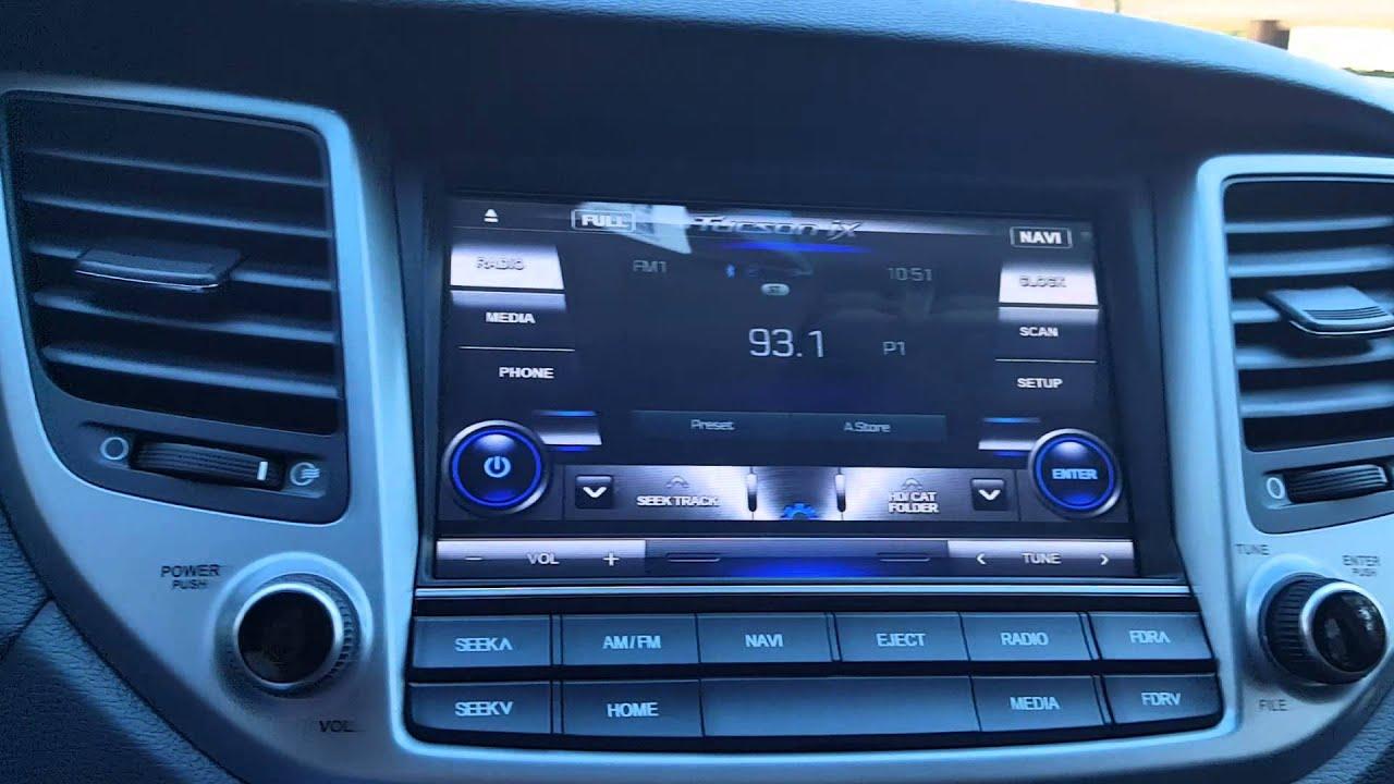 Hyundai Navigation System