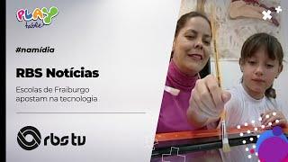 RBS Notícias - Escolas de Fraiburgo apostam na tecnologia