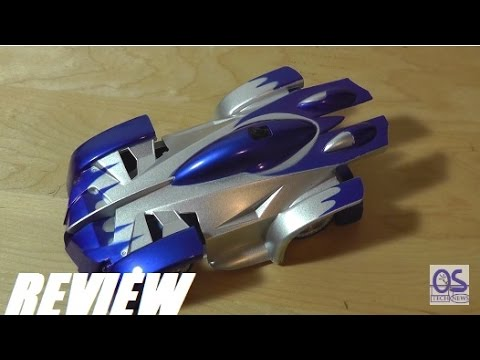 REVIEW: Wall Climber RC Car (SpaceGate 19643)