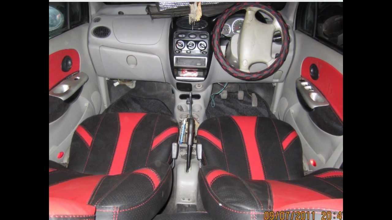 custom car interior work red black designers seat covers b y car mart youtube. Black Bedroom Furniture Sets. Home Design Ideas