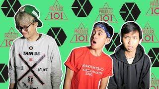 TEBAK MUKA MEMBER GRUP K-POP!!!