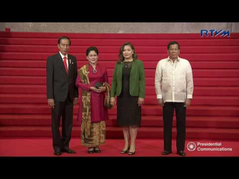 Welcome Ceremony of the ASEAN Heads of State/Government 4/29/2017