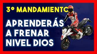 Imagen del video: 3º Mandamiento del motero: Aprenderás a frenar nivel Dios, con Chicho Lorenzo