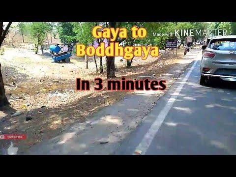 Gaya to Bodh Gaya in 3 minutes / Bodh gaya Road trip / Bihar Tourism