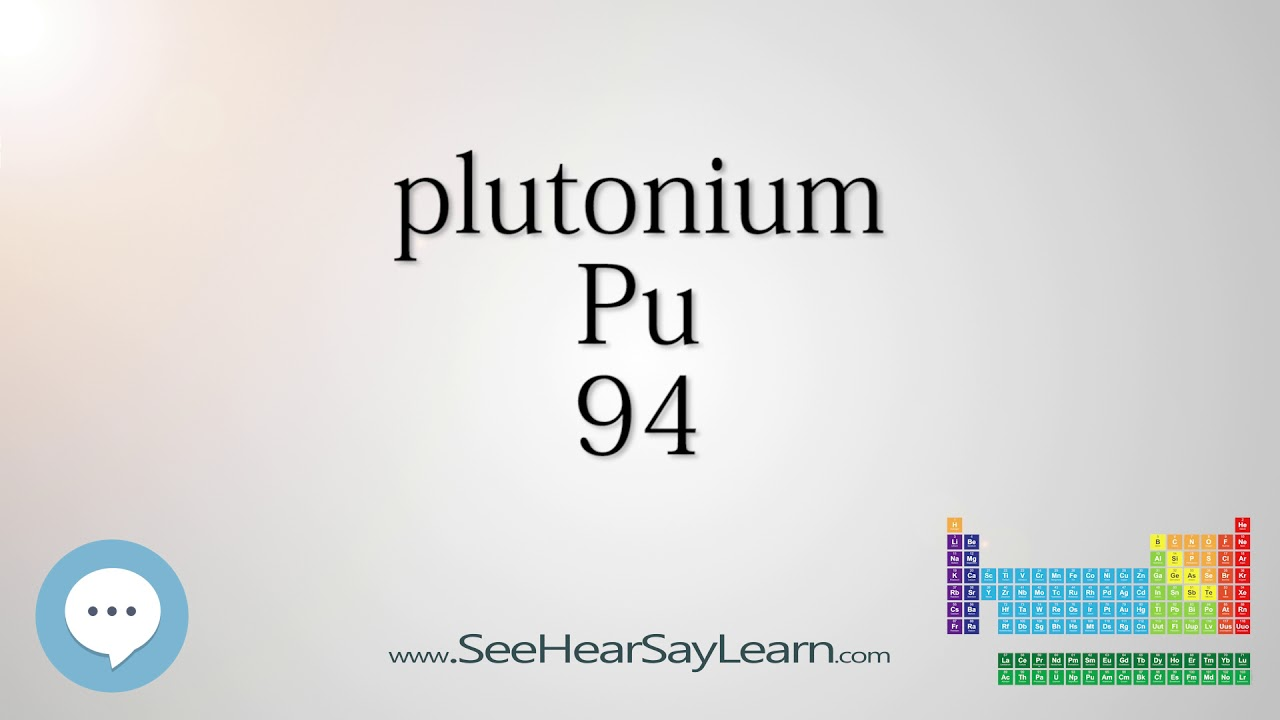 Plutonium periodic table of elements youtube plutonium periodic table of elements gamestrikefo Image collections