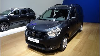 2019 Dacia Dokker Laureate SCe 100 - Exterior and Interior - Auto Show Brussels 2019