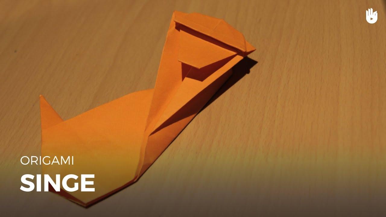 Faire Un Singe En Papier Origami Youtube