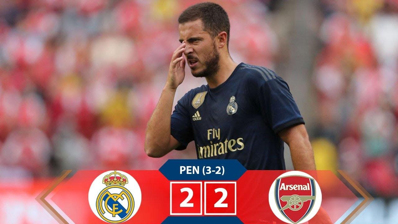 Real Madrid vs Arsenal 2-2 (Pen 3-2) Extended Highlights ...