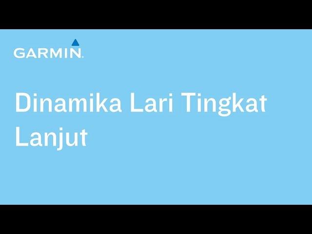 (Video Tutorial) Dinamika Lari Tingkat Lanjut