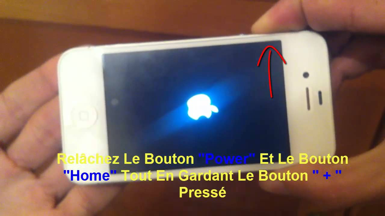 tuto comment r parer un iphone bloqu sur la pomme au d marrage youtube. Black Bedroom Furniture Sets. Home Design Ideas