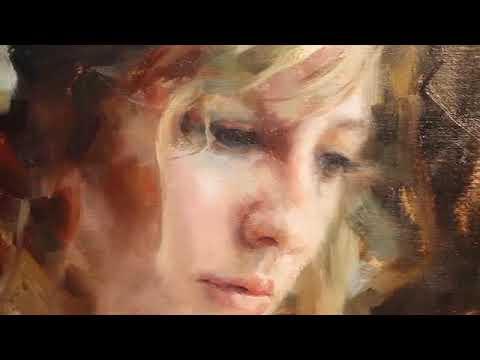Dạy vẽ tranh chân dung sơn dầu phần 2