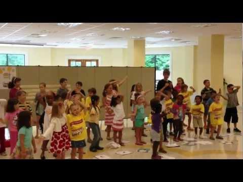 Vatican Express Vacation Bible School Songs Performance 2