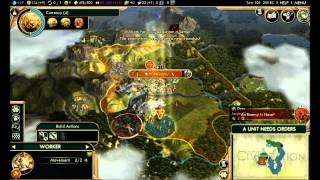 Soapy Plays Civilization 5 Episode 2 DragonBall Z