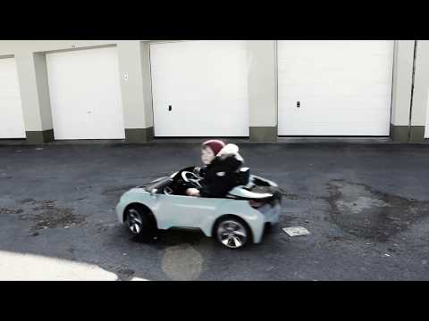 Power Wheels Ride On Cars For Kids BMW Drift Burnout
