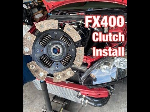 TURBO RSX / DC5 FX400 CLUTCH INSTALL & FIRST TEST DRIVE  | THE POWER HOUSE GARAGE |